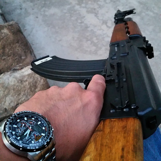 American made AK47 for left-handed