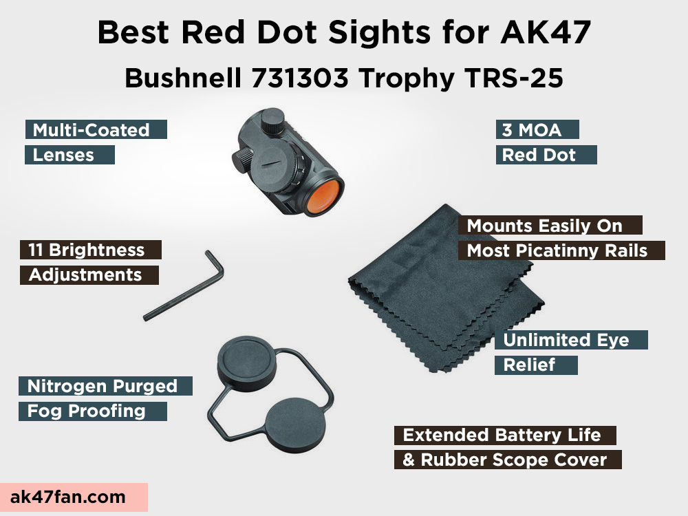 Bushnell 731303 Trophy TRS-25 Review, Pros and Cons