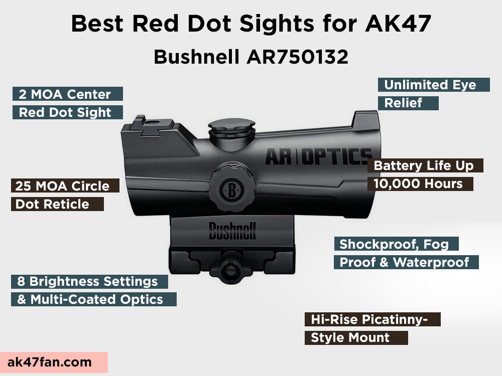 Bushnell AR750132 Review, Pros and Cons