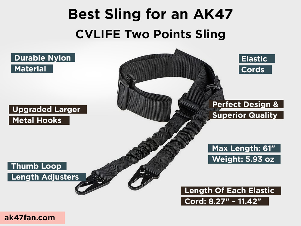 CVLIFE Two Points Sling Review, Pros and Cons