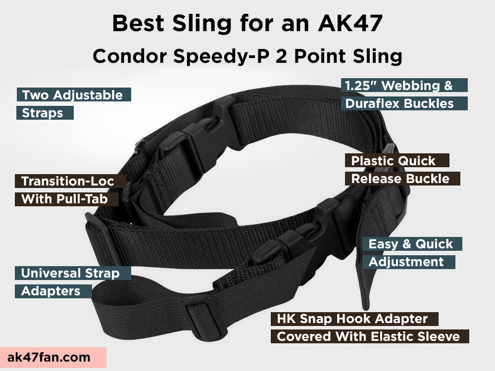 Condor Speedy-P 2 Point Sling Review, Pros and Cons
