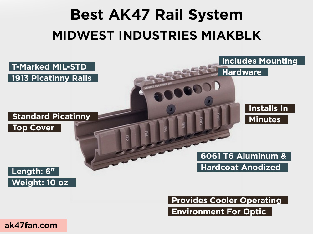 MIDWEST INDUSTRIES MIAKBLK Review, Pros and Cons