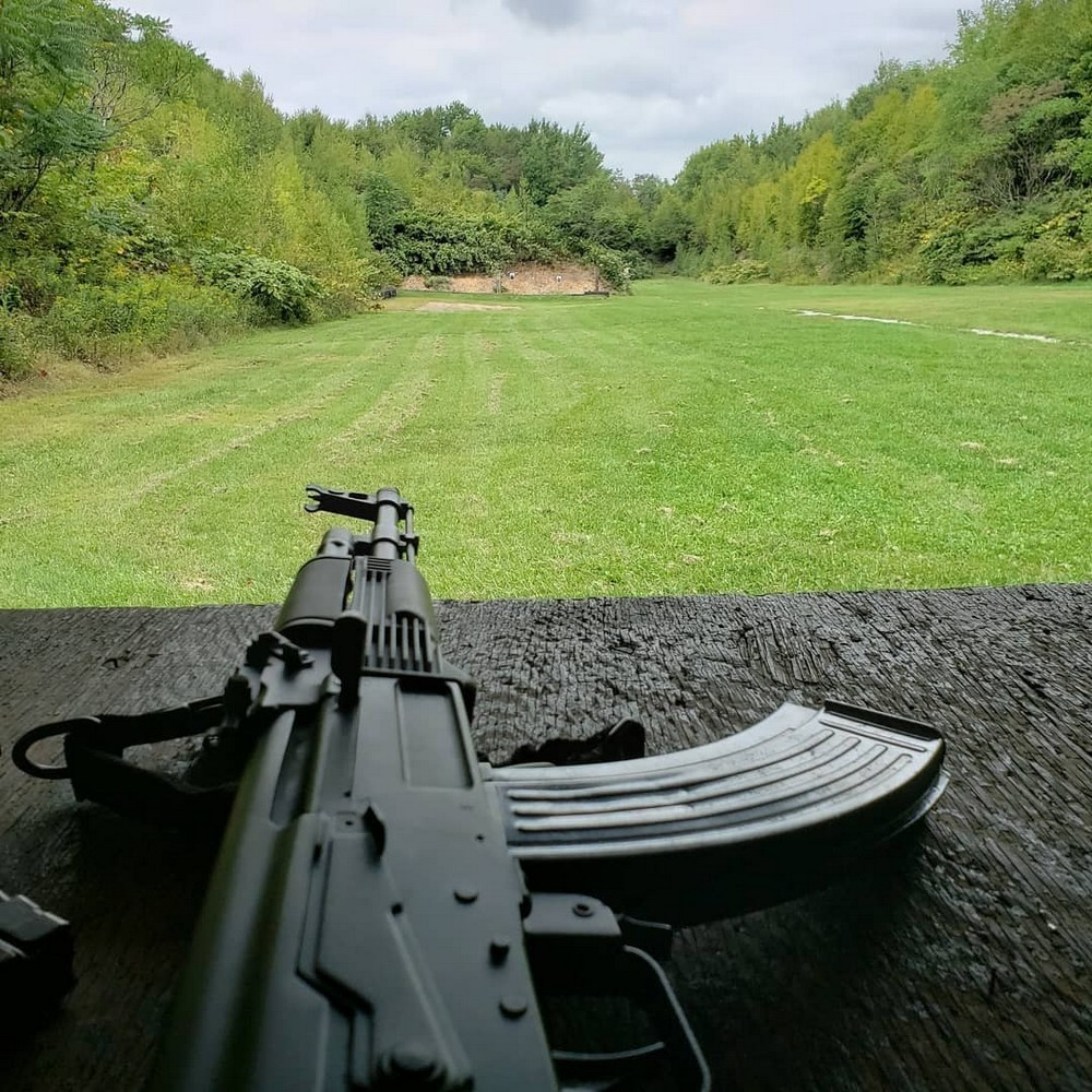 Milled rifle AK47