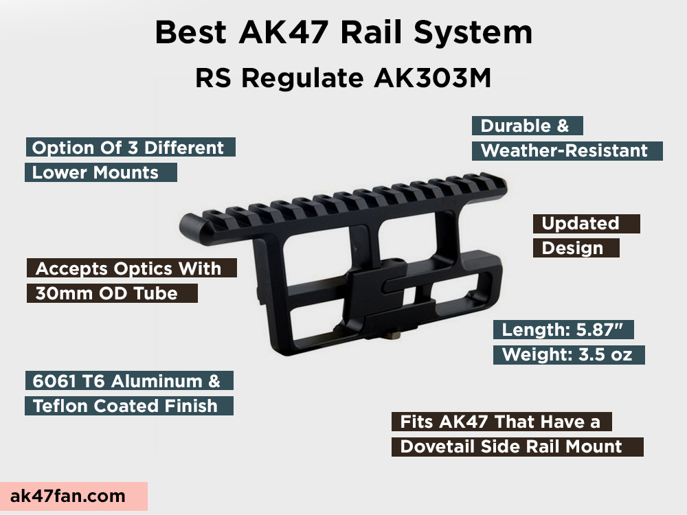 RS Regulate AK303M Review, Pros and Cons