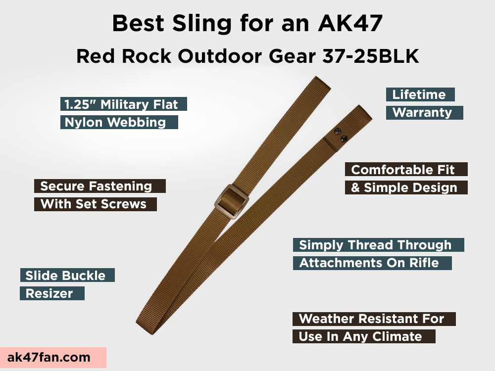 Red Rock Outdoor Gear 37-25BLK Review, Pros and Cons