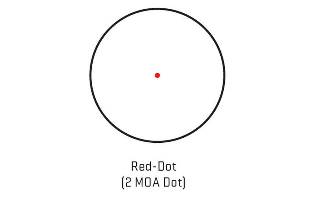 Sig Sauer SOR52001 Romeo5 has 2 MOA red dot