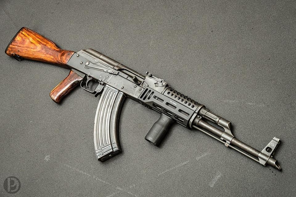 Stamped AK47