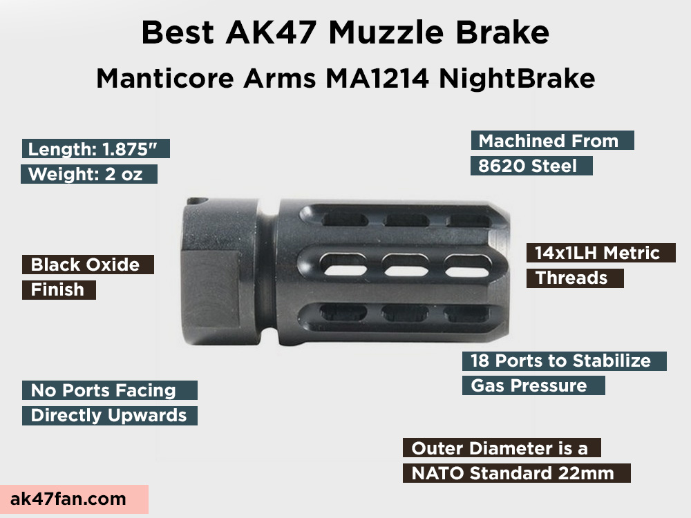 Manticore Arms MA1214 NightBrake Review, Pros and Cons