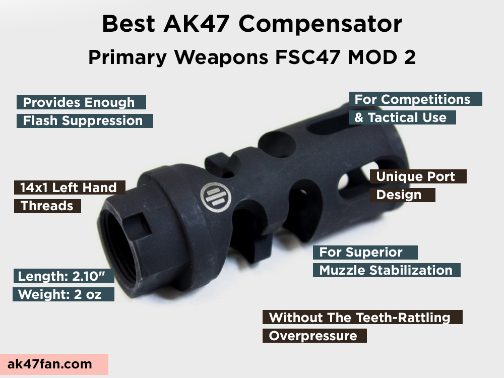 Primary Weapons FSC47 MOD 2 Review, Pros and Cons