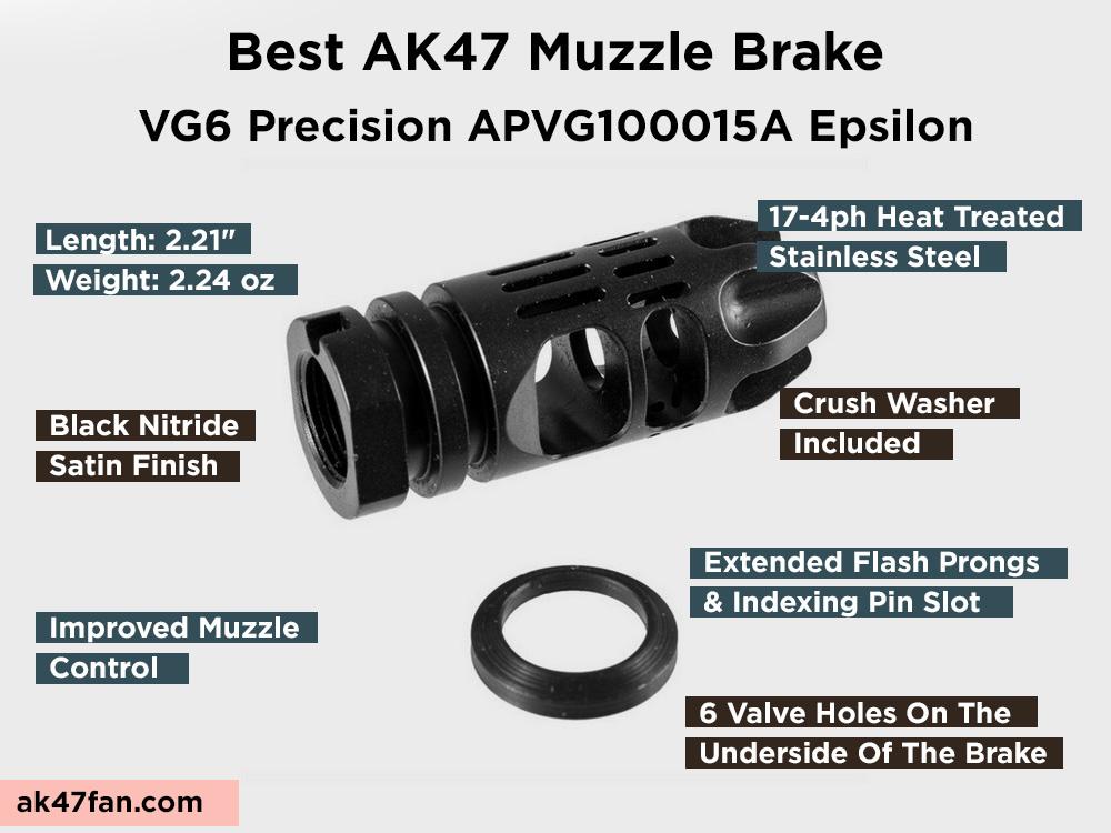 VG6 Precision APVG100015A Epsilon Review, Pros and Cons